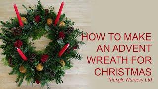 DIY How To Make An Advent Wreath