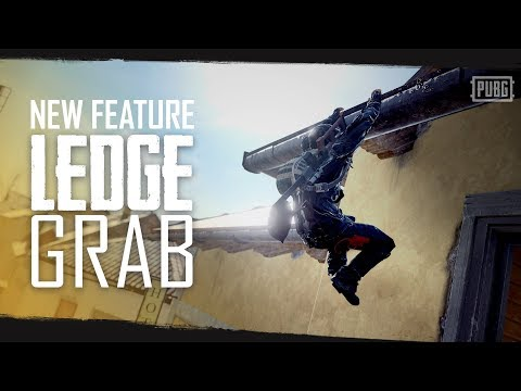 PUBG - New Feature - Ledge Grab