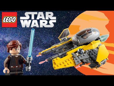 Vidéo LEGO Star Wars 75281 : L'intercepteur Jedi d'Anakin