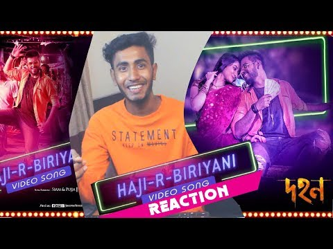 Download Hajir Biriyani (হাজীর বিরিয়ানী ) Video Song Reaction | Siam Ahmed | Pujja | Akassh | Rafi HD Mp4 3GP Video and MP3