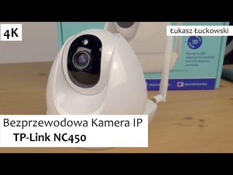 SmartHome Bezprzewodowa Kamera IP TP-Link NC450 | Rzut Oka