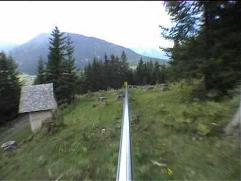 Watch A Death Luge Fly Down A Mountain With No Brakes