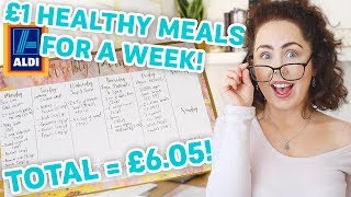 £6.00 Weekly Meal Plan | EASY Healthy Eating On a Tight Budget 2020