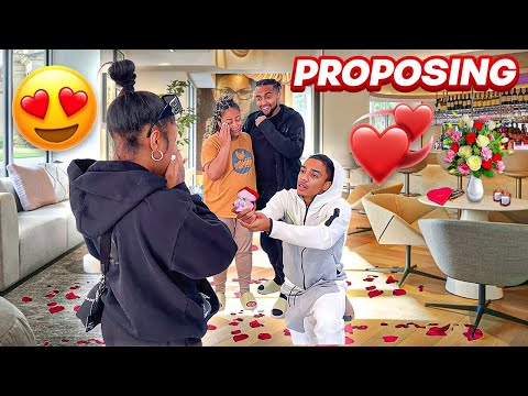I PROPOSED TO MY GIRLFRIEND AT 18 (NOT CLICKBAIT)