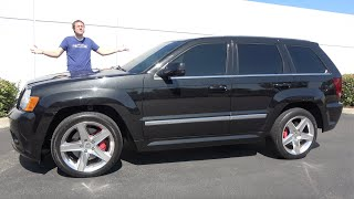 The Jeep Grand Cherokee SRT8 Is a Fast SUV Icon