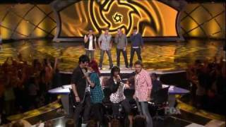 Adam Lambert  -  Can't Get You Out of My Head  - Top 8 Results -  08/04/09