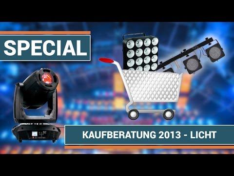 Kaufberatung 2013 - Licht Equipment für Veranstaltungstechniker