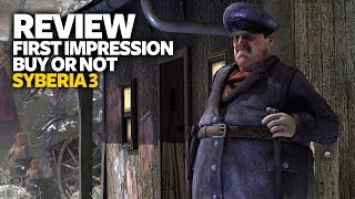 Syberia 3 Review PS4 - First Impression (Buy Or Not - Performance Analysis)
