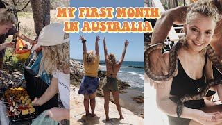 MY FIRST MONTH IN AUSTRALIA | TRAVEL VLOG