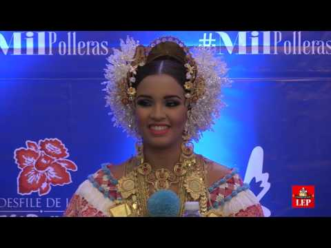 Más de 100 delegaciones en desfile de las mil polleras 'La Gala'
