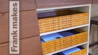Making Bamboo Basket Boxes