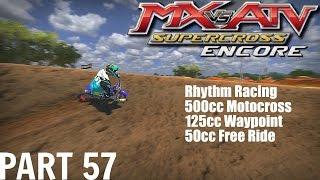 MX Vs ATV Supercross Encore!   GameplayWalkthrough   Part 57   Riding With Variety #2!
