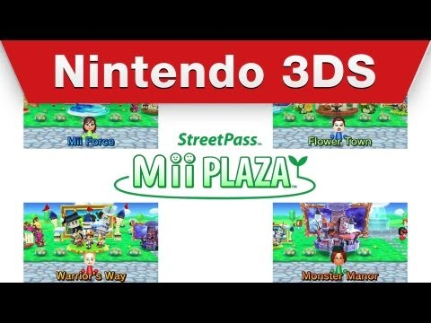 how to meet a special mii on street pass plaza force