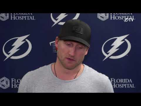 Steven Stamkos -- Tampa Bay Lightning 2017-18 exit interview
