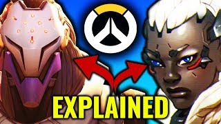 "Who is Sojourn & the ""EVIL"" Omnic in Storm Rising? [Overwatch Explained]"