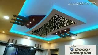 New Jali False Ceiling Design 2019    Jali Design False Ceilings    Multi Colour Cobe Ceiling Design