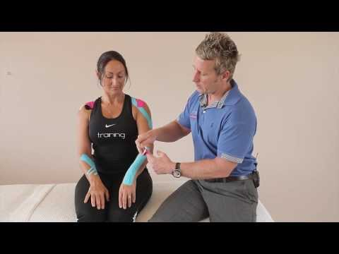 How to apply Kinesiology tape - YouTube