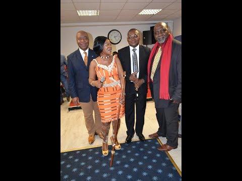 Festivités de la rencontre Serey Doh Célestin et la Diaspora Wê de Paris