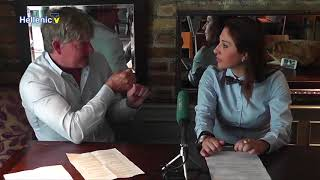 Sir Peter Birkett TV interview for 'Conversation with Nadia Themis'