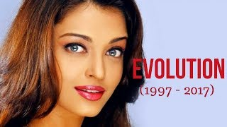 Aishwarya Rai Evolution (1997 - 2017) - YouTube