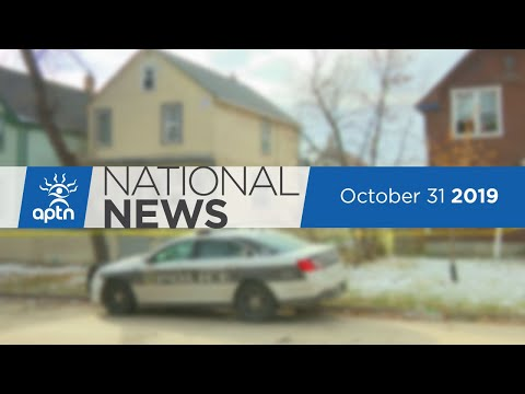 APTN National News October 31, 2019 – Toddler in critical condition, Macdonald vandalized again