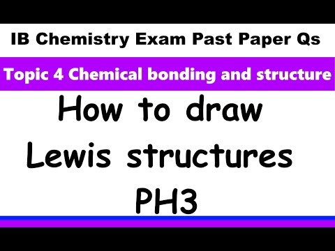 Lewis Dot Diagram For Ph3 Guitar Wiring Builder Structure Smotret Onlajn Na Hah Life How To Draw Structures Ib Chemistry Past Paper Exam Qs 2016 May P2 Sl