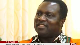 Exclusive With Dr. Adutwum - The Pulse on JoyNews (1-1-18)