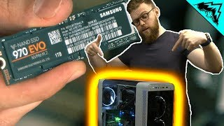 Level Up Your Rig - Samsung NVMe SSD 970 EVO Install (ft. TechSource)