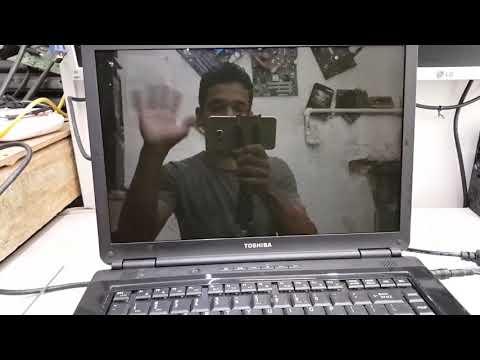 NOTEBOOK TOSHIBA  SATELLITE NÃO DA VIDEO (BORAVER)