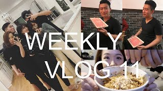 WEEKLY VLOG 11| 充满火锅和朋友的两周一起更新!