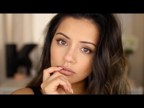 selena gomez red eyeshadow inspired makeup tutorial drugstore only