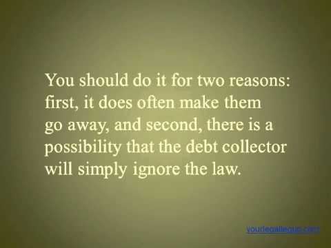 Requiring Debt Collectors to Verify or Validate the Debt-Your Secret Weapon against Debt Collections