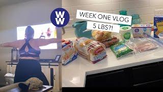 Week One Back on WW | Weight Watchers Postpartum
