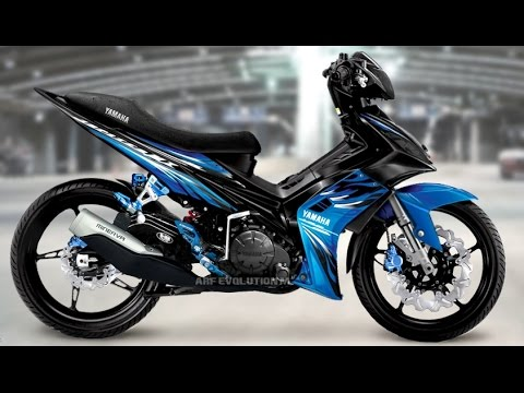 Video Motor Trend Modifikasi | Video Modifikasi Motor Yamaha Jupiter MX Simple Terbaru