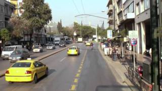 preview picture of video 'City sightseeing by bus from Thisio (Αθήνα/Athens)'