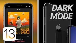 Download iOS 13 Dark Mode Confirmed + Latest iPhone XI