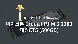 마이크론 Crucial P1 M.2 NVMe 대원CTS (500GB)_동영상_이미지