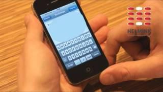 Apple iPhone 4 (iOS 4) Exchange instellen