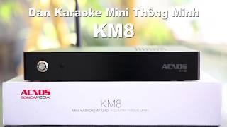 Đầu mini karaoke Wifi độ nét cao KM8