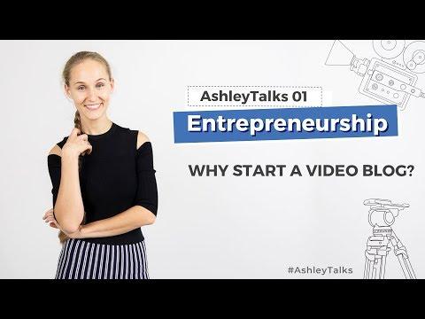 Why Start Videoblogging - Ashley Talks 1