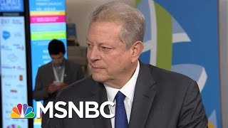 Former VP Al Gore: 'This Experiment With Trumpism Is Not Going Well'   Andrea Mitchell   MSNBC