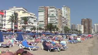 preview picture of video 'Benidorm Playa de Levante'