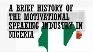 HOW TO MAKE MONEY AS A MOTIVATIONAL SPEAKER IN NIGERIA