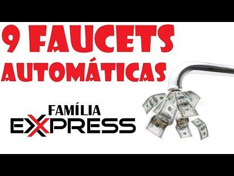 9 Faucets Automáticas - Ganhe Moedas Fácil Fácil -  FAMÍLIA EXPRESS