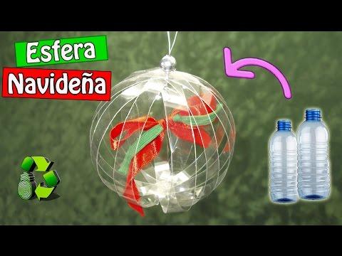 DIY Esfera con botellas de plástico (Reciclaje) Ecobrisa.