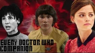 Every Doctor Who Companion 1963-2013 (Celebrating 50 Years)