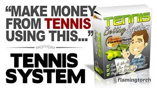 Press Play To Watch - Tennis Betting System Introduction