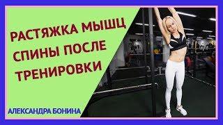 ►РАСТЯЖКА СПИНЫ. Растяжка после тренировки. Упражнение для растяжки спины. Как растянуть мышцы.