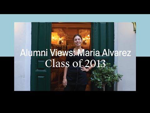 Alumni Views: Maria Alvarez, Class of 2013, Restaurateur at La Tienda Comidas en Les Roches Marbella Global Hospitality Education