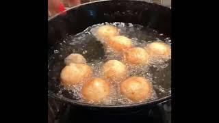 LEGAMAAT-Arabic dessert        Crunchy sweet dumplings